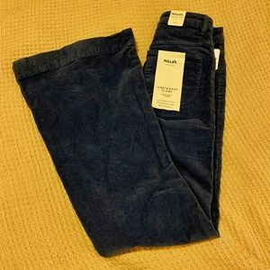 Free People Rolla's Cordaroy Flare Pants -Tags On!